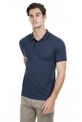 Buratti Erkek Petrol Polo Yaka T-Shirt - 43619074 3