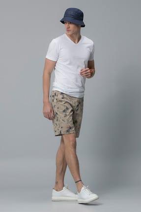Lufian Erkek Geras Basic T- Shirt Beyaz 111020008100500 1
