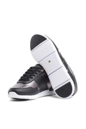 Tommy Hilfiger Kadın Siyah Sneaker FW0FW03688 2