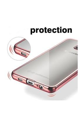Microsonic Samsung Galaxy S8 Plus Kılıf Flexi Delux Gümüş 3