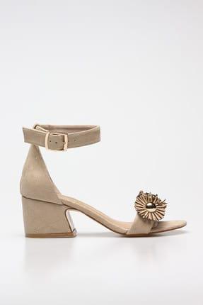 Rovigo Bej Kadın Klasik Topuklu Ayakkabı 11110389376-03 1