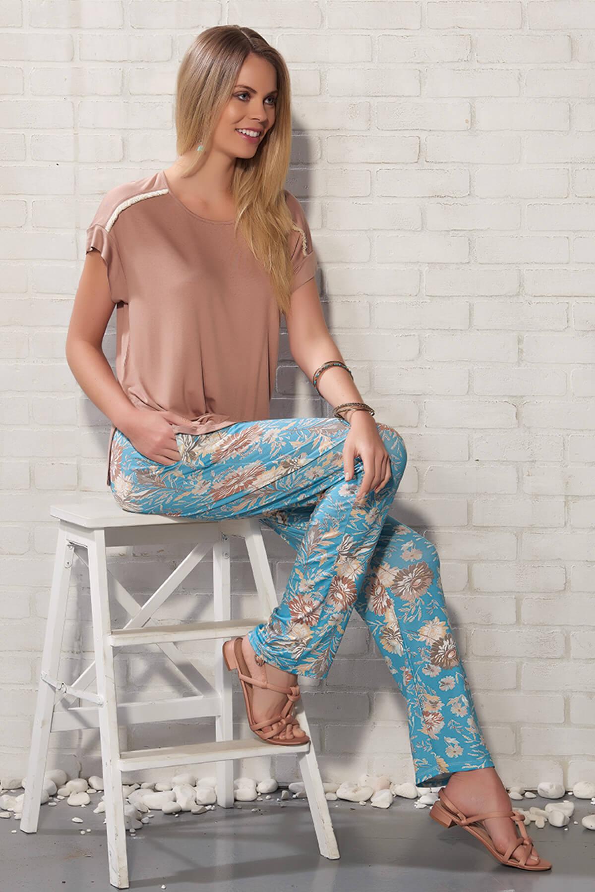 Kadın Karamel Pantolon Takım 20211