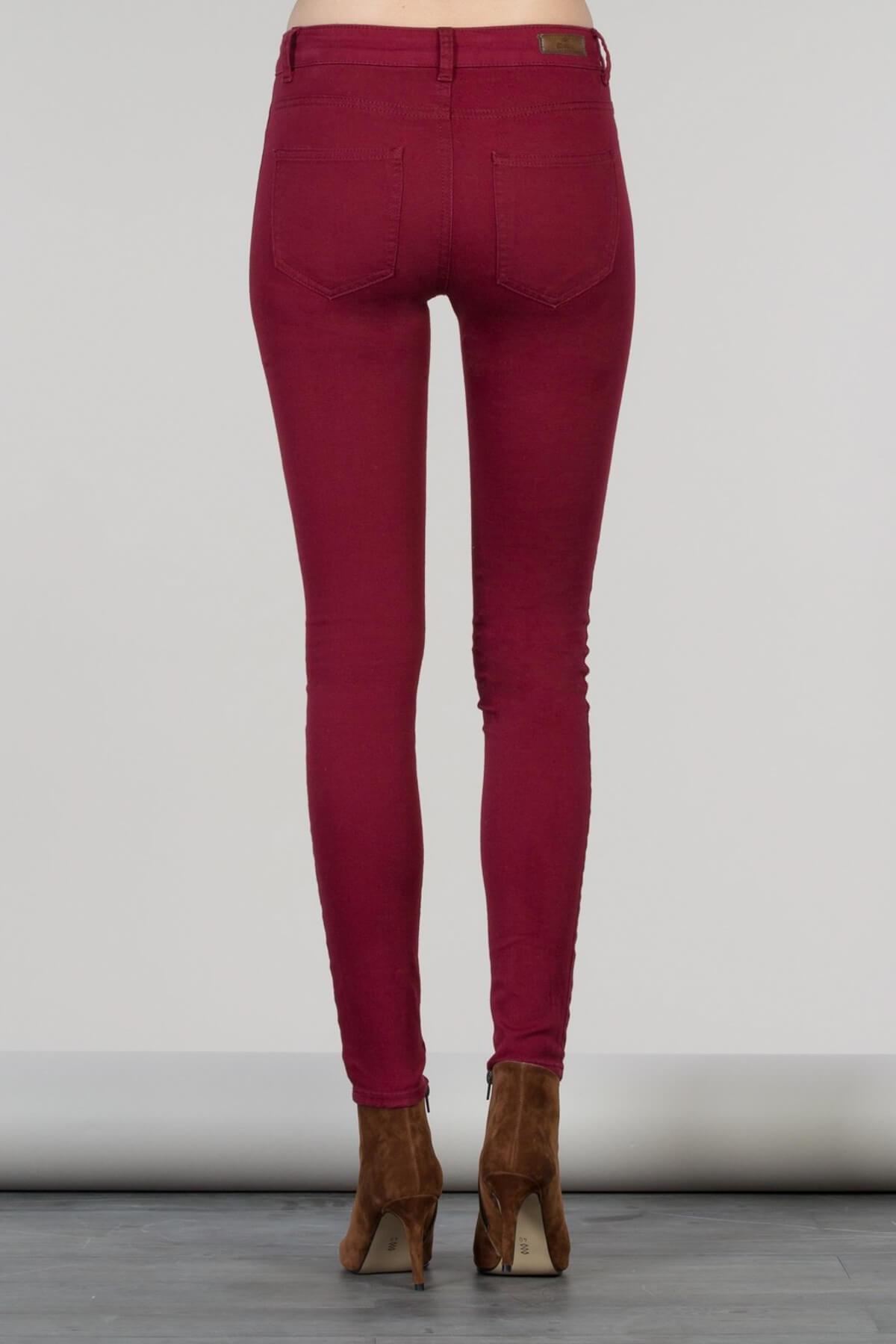 Colin's Bordo Kadın Pantolon CL1024844