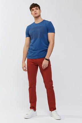 Avva Erkek Kiremit 5 Cepli Düz Slim Fit Pantolon A91b3500 0