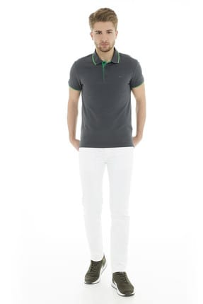 Cazador Erkek Antrasit T-Shirt - Cdr4614-19YCEEOM4614 4