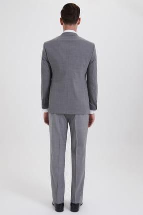 Hatemoğlu Yelekli Klasik Gri Takım Elbise 33201319C018 3