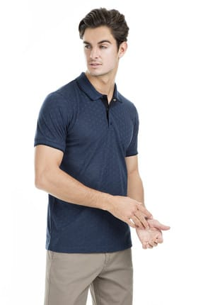 Buratti Erkek Petrol Polo Yaka T-Shirt - 43619074 2