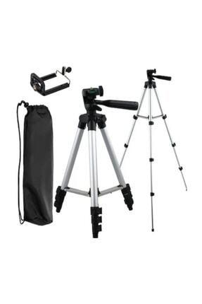 AlpCollection 3110 Ayarlanabilir 1m 105cm Kademeli Telefon Kamera Tripod Ayak 0