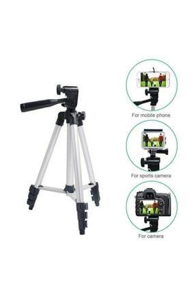 AlpCollection 3110 Ayarlanabilir 1m 105cm Kademeli Telefon Kamera Tripod Ayak 2