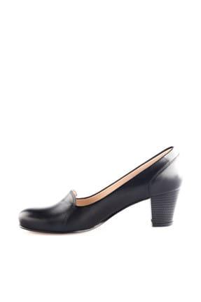 Dgn Siyah Kadın Klasik Topuklu Ayakkabı 258-148 2