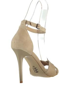 Fox Shoes Ten Kadın Topuklu Ayakkabı B922113702 2