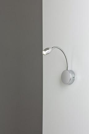 HAP-9065-LED Krom Kaplama Aplik