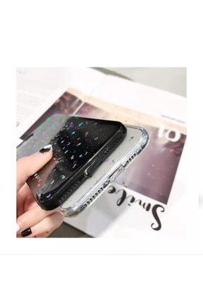 Kılıfsiparis Apple Iphone X / Xs Şeffaf Simli Silikon Telefon Kılıfı 3
