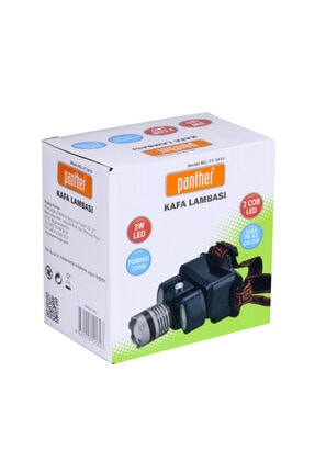 Panther Pt-5910 Pompalı Zoom Ledli Kafa Lambası 3w 2