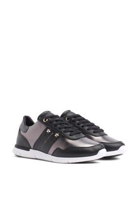 Tommy Hilfiger Kadın Siyah Sneaker FW0FW03688 1