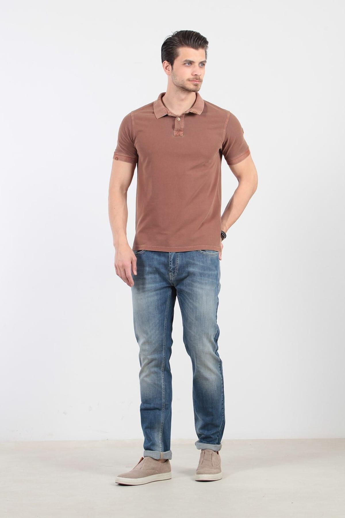 Düz Örme T-Shirt - RP10106531