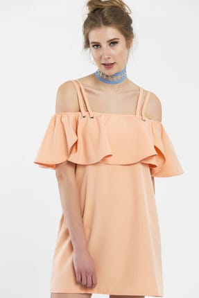 Somon Rengi Elbise FNPL0100