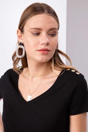 Pierre Cardin Kadın T-Shirt G022SZ011.000.818301 0