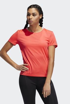 adidas RUN IT Kırmızı Kadın Kısa Kol Tişört 100575778 0