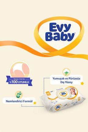 Evy Baby Islak Havlu Soft 12'Li Islak Mendil 672 Yaprak 4