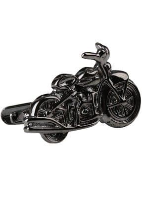La Pescara Motorsiklet Koyu Gümüş Renk Kravat İğnesi KIY149 KRVT8690002222598 0