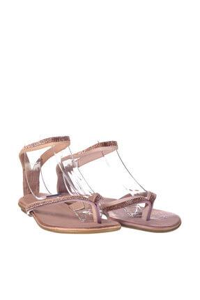 İnci Hakiki Deri Açık Pembe Kadın Sandalet 120130002445 2