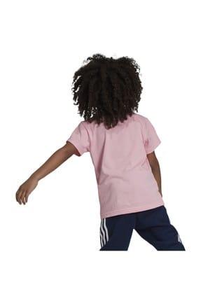 adidas Pembe Trefoıl Tee Çocuk T-Shirt 3