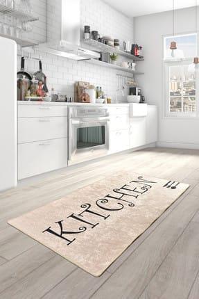 Chilai Home SPOON DJT Mutfak Halısı Modelleri, Yıkanabilir, Kaymaz Taban 1