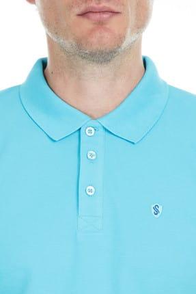 Sabri Özel Erkek Mavi T-Shirt - S00000007103 4