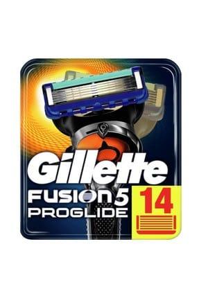 Gillette Fusion Proglide 14'Lü Yedek Tıraş Bıçağı Karton Paket 0