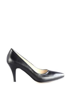 Dgn Siyah Kadın Klasik Topuklu Ayakkabı 304-127 0