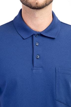 Kiğılı Polo Yaka Regular Fit Tişört 1