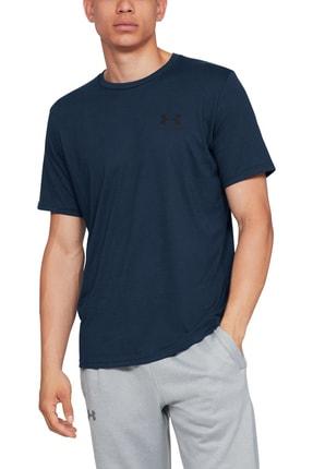 Under Armour Erkek Spor T-Shirt - SPORTSTYLE LEFT CHEST SS - 1326799-408 1