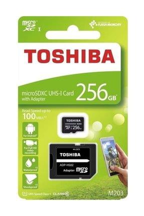 Toshiba 256Gb 100Mb/Sn Microsdxc™ Uhs-1 Class10 Excerıa Thn-M203K2560Ea 0