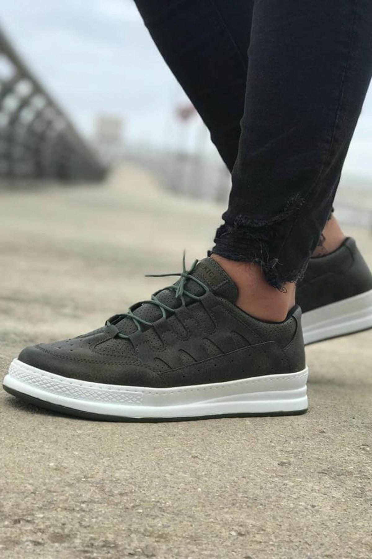 Haki Erkek Sneaker CH040