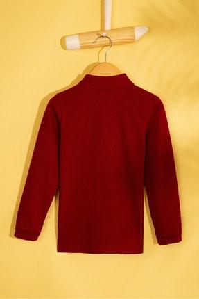 US Polo Assn Bordo Erkek Cocuk Sweatshirt 1