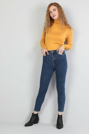 Colin's Koyu Mavi Kadın Pantolon CL1046126 2