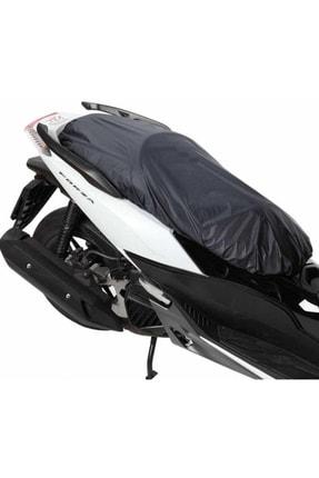 AutoEN Kanuni Elite 100 Motosiklet Sele Kılıfı Sele Brandası Siyah 0