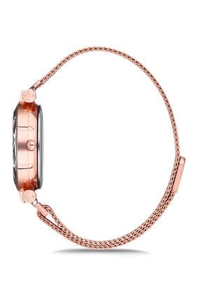 Aqua Di Polo Kadın Rose Gold Hasır Mıknatıslı Kol Saati Apsv1-a5451-kh222 1