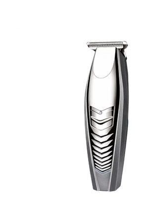 Eragon Şarjlı Profesyonel T Bıçak Saç Sakal Kesme Tıraş Makinesi Seti 0