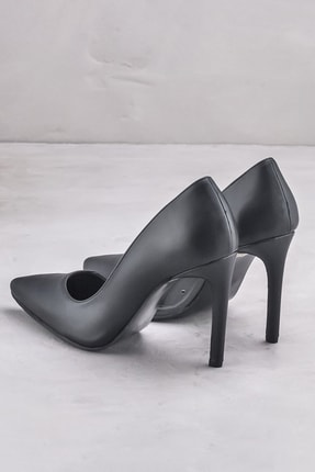 Elle CHAVELA Siyah Kadın Topuklu Ayakkabı 2