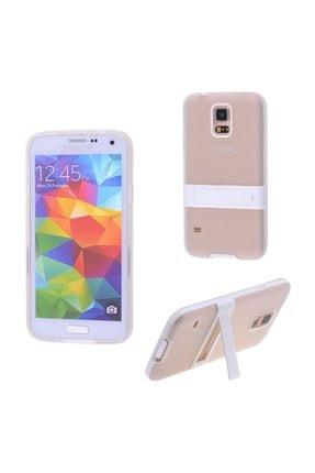 Ally Mobile Ally Galaxy S5 I9600 G900 Standlı Silikon Kılıf Şeffaf 4