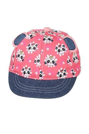 تصویر از 0-18 Aylık Kız Sapka Mercan Şapka