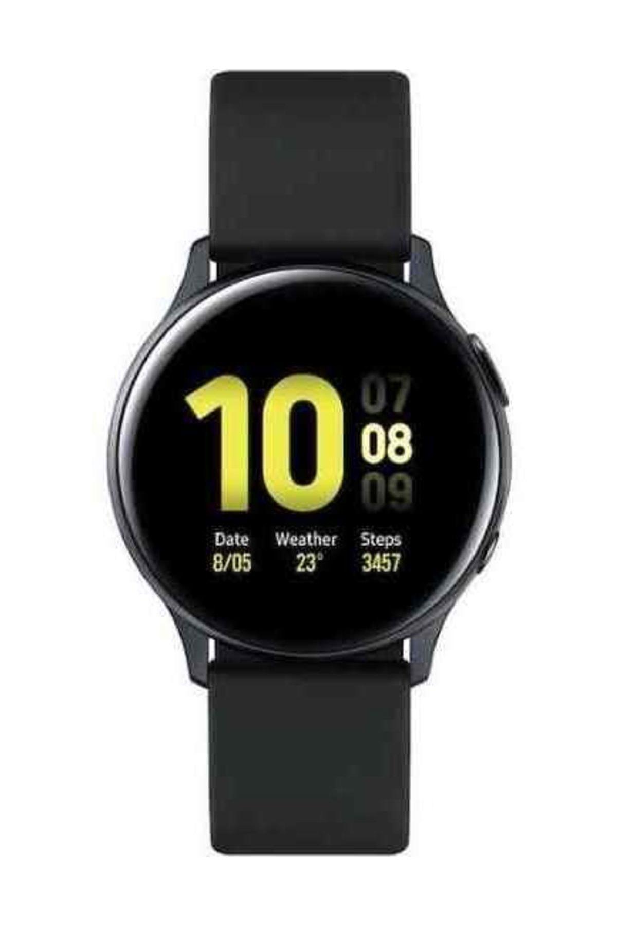 Galaxy Watch Active2 40mm Alüminyum Mat Siyah (Samsung Türkiye Garantili)
