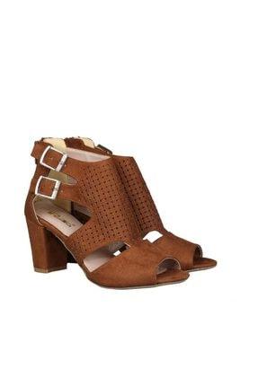 PUNTO Taba Kadın Klasik Topuklu Ayakkabı 19Y423B0049-16 3