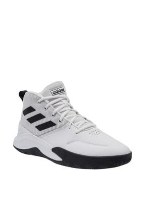 adidas OWNTHEGAME Beyaz Erkek Basketbol Ayakkabısı 100663970 1