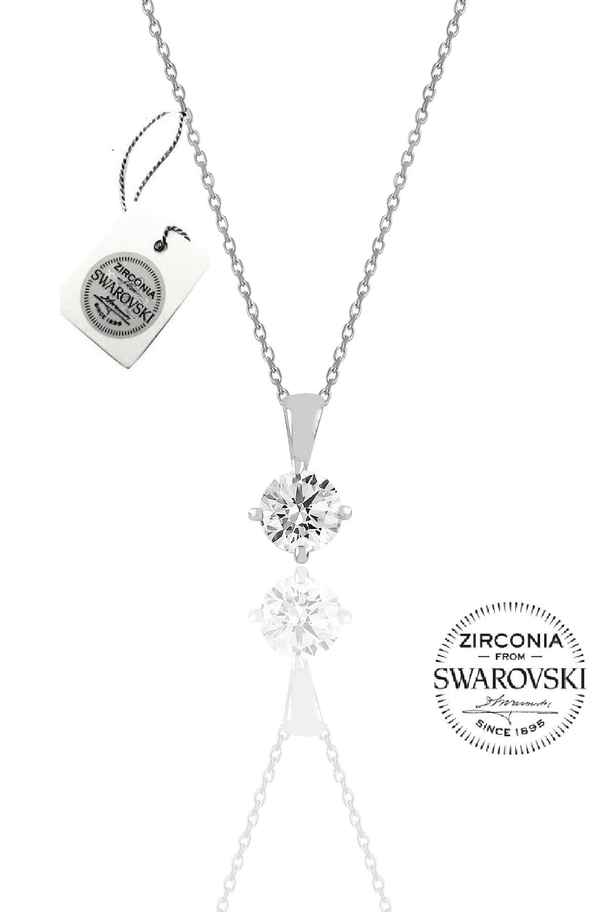 Söğütlü Silver Kadın Gümüş Swarovski Tek Taş Modeli Üçlü Set 15 SGTL20507A