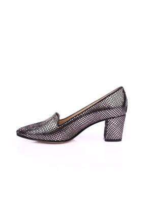 Dgn Çelik Petek Kadın Klasik Topuklu Ayakkabı 3