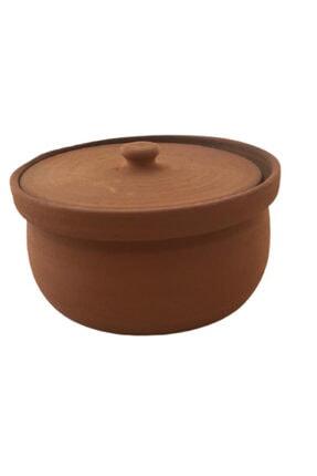 ALİ BABA CÖMLEK Pişirilmiş Turuncu Toprak Orta Güveç 5-6 Kişilik 2