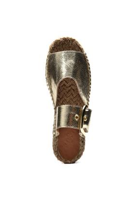 Jeep Ayakkabı Altın Kadın Terlik 9Y2MAJ0058 4